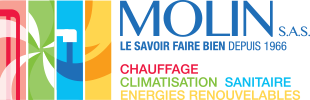 entreprise Molin : chauffage, climatisation sanitaire, energies renouvelables